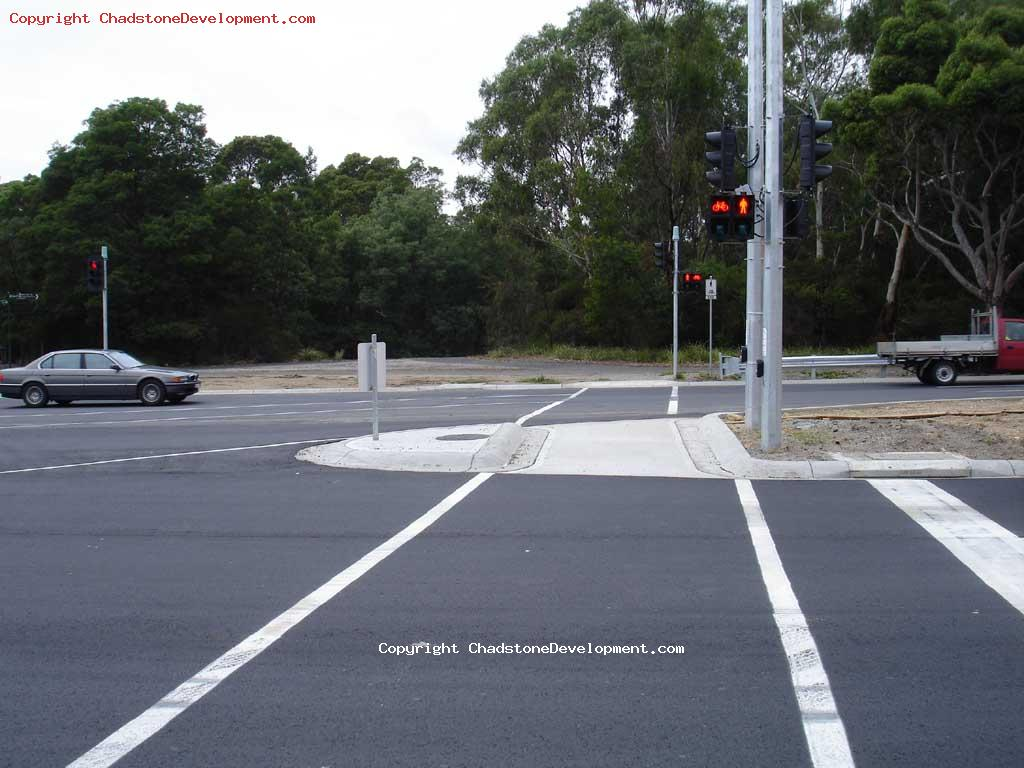 New pedestrian crossing median strip warrigal road - Chadstone Development Discussions