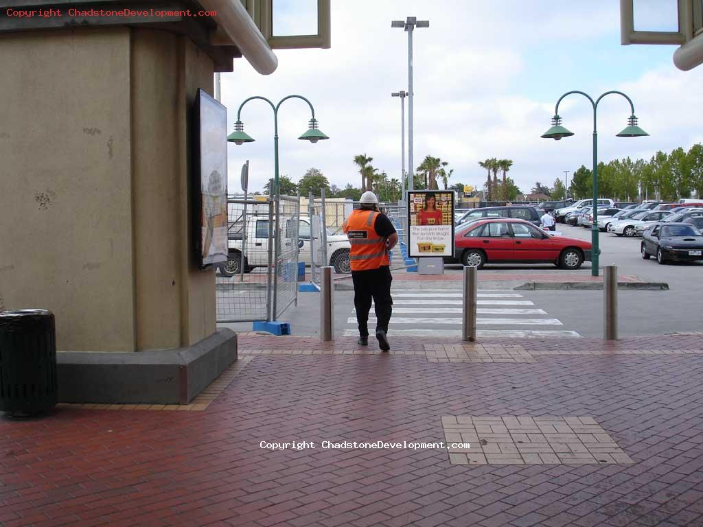 A ProBuild worker returning to work - Chadstone Development Discussions