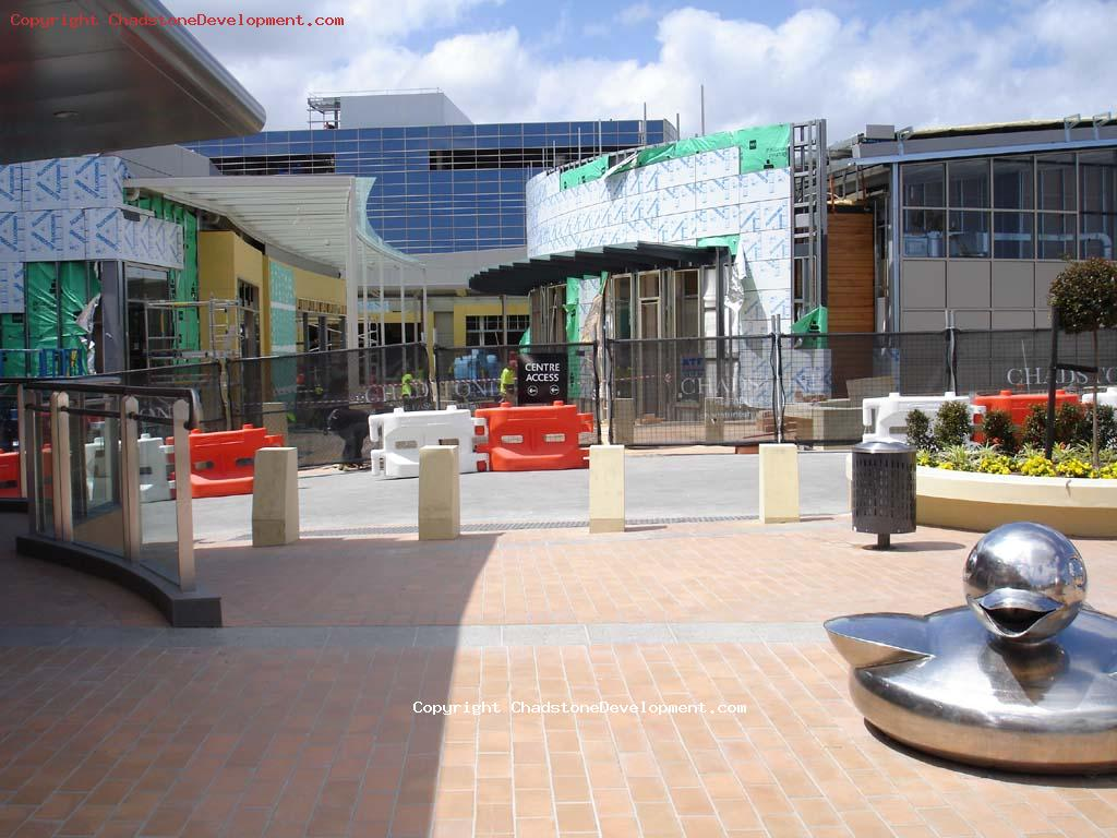 Some shops still under construction - Chadstone Development Discussions