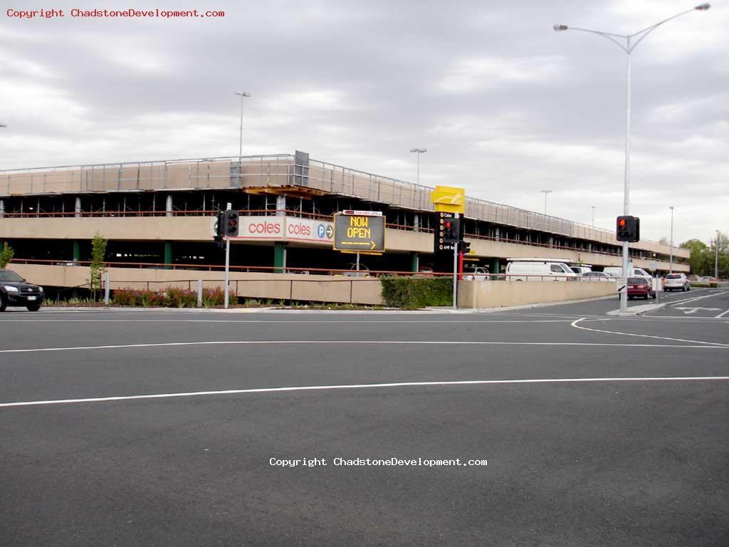 Coles 2nd level carpark reopens - Chadstone Development Discussions