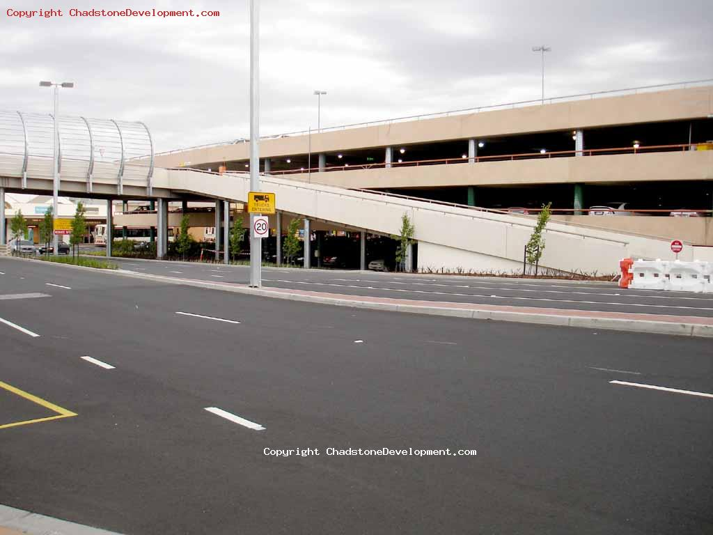 Ramp to new level carpark still blocked - Chadstone Development Discussions