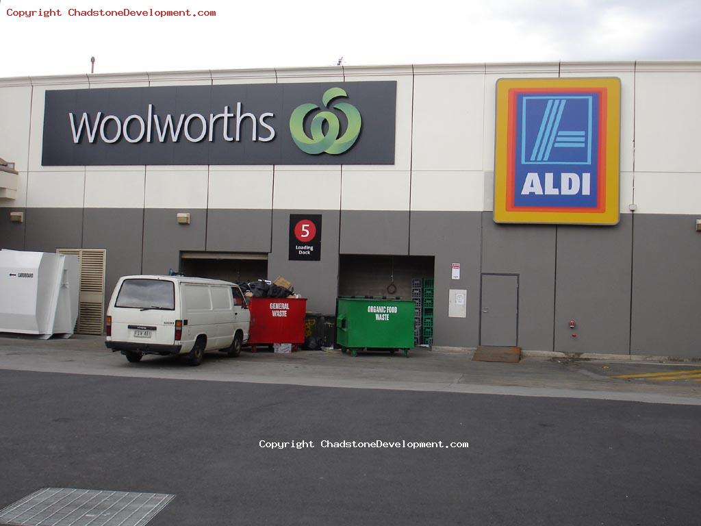 Woolies and ALDI - Chadstone Development Discussions