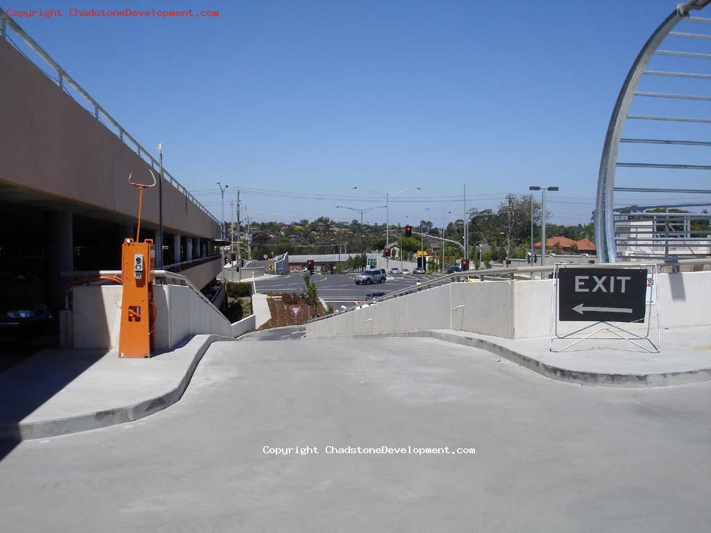 New exit ramp from 2nd Level Coles Carpark open - Chadstone Development Discussions
