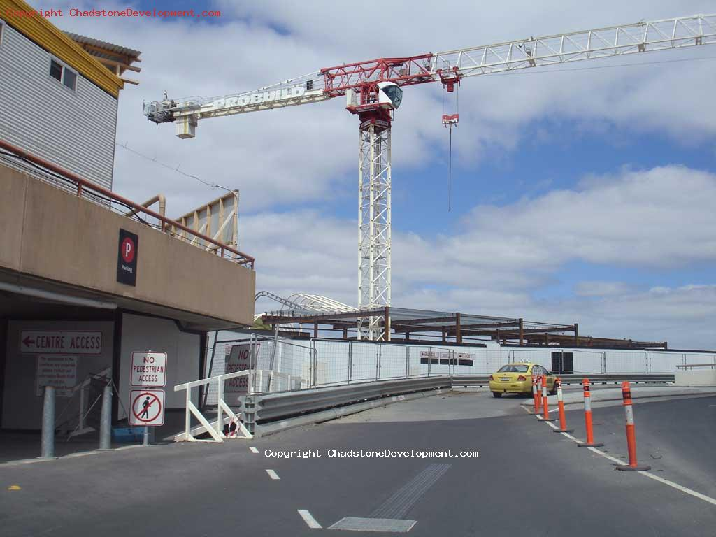 Crane at West Mall - Chadstone Development Discussions