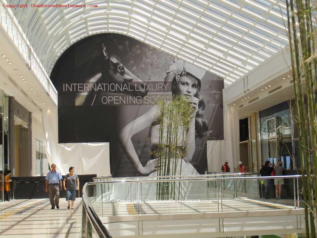 International Luxury Opening Soon - Chadstone Development Discussions
