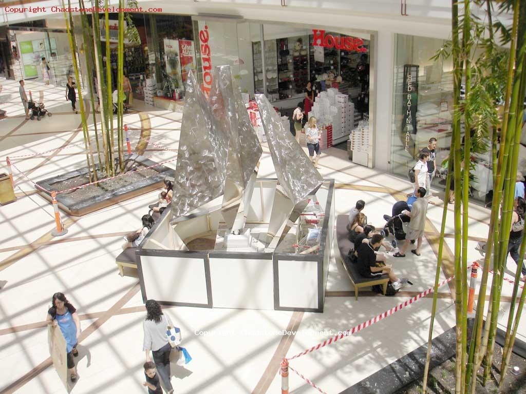 New artistic feature near Myer - Chadstone Development Discussions