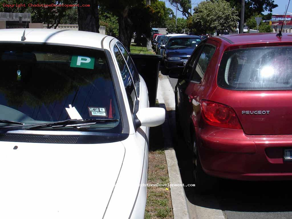 Fined for parking on naturestrip without permit Boxing day 2009 - Chadstone Development Discussions