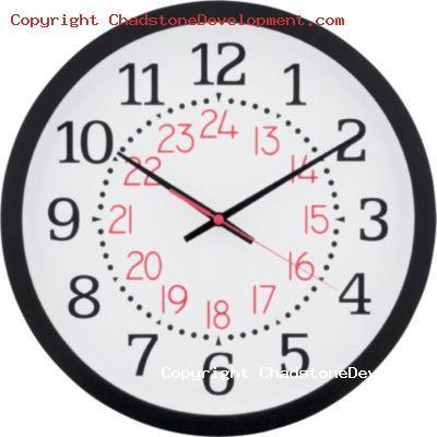 24 Hour Clock - Chadstone Development Discussions