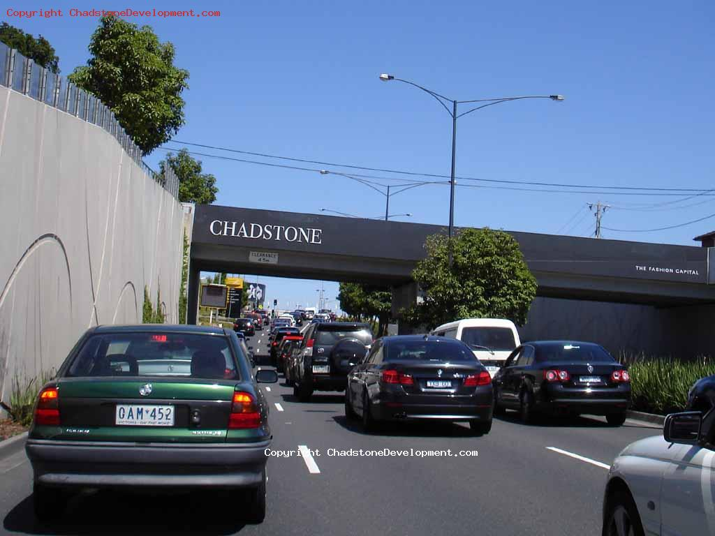 Queues on Middle Rd - Chadstone Development Discussions