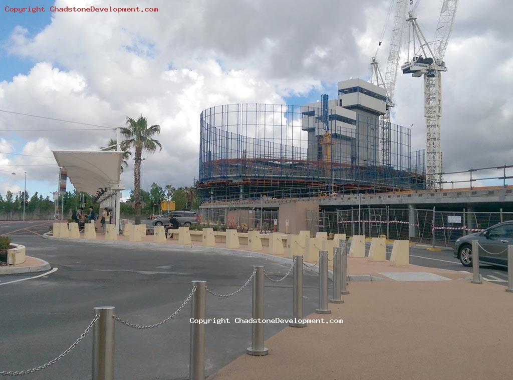 New office tower construction next to Bus Stops - Chadstone Development Discussions