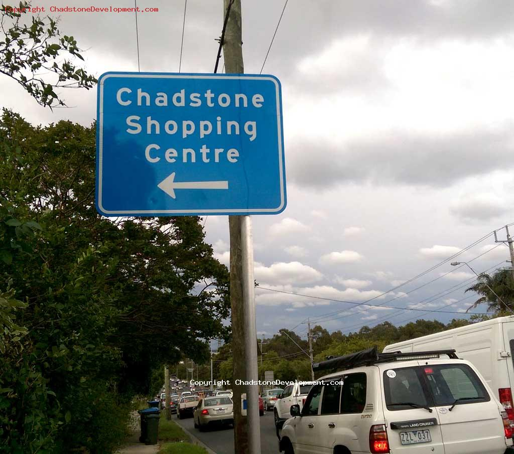 Chadstone direction signage at Warrigal Road - Chadstone Development Discussions