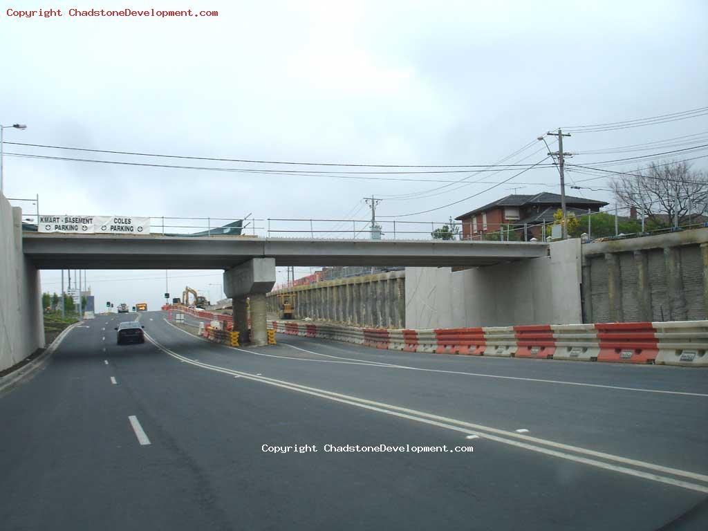Webster Street Bridge, october 2007 - Chadstone Development Discussions