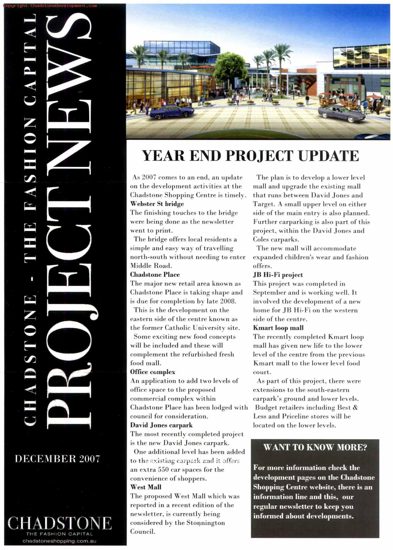 December 2007 (page 1) - Chadstone Development Discussions