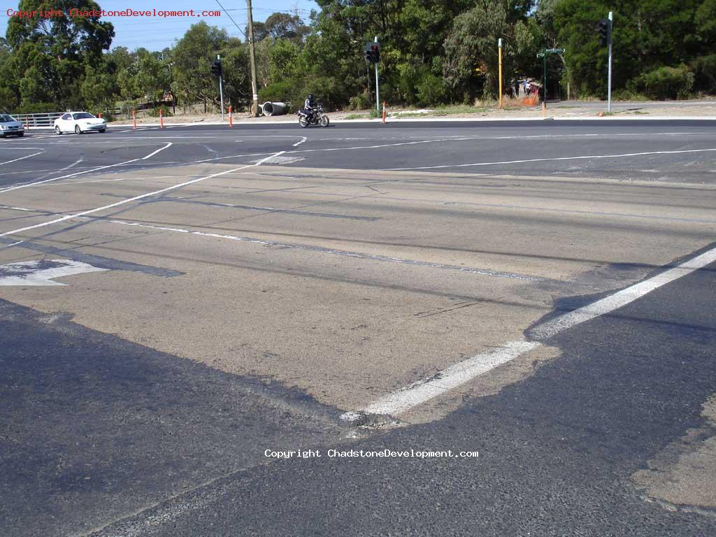 Tattered Middle/Warrigal Rd intersection - Chadstone Development Discussions