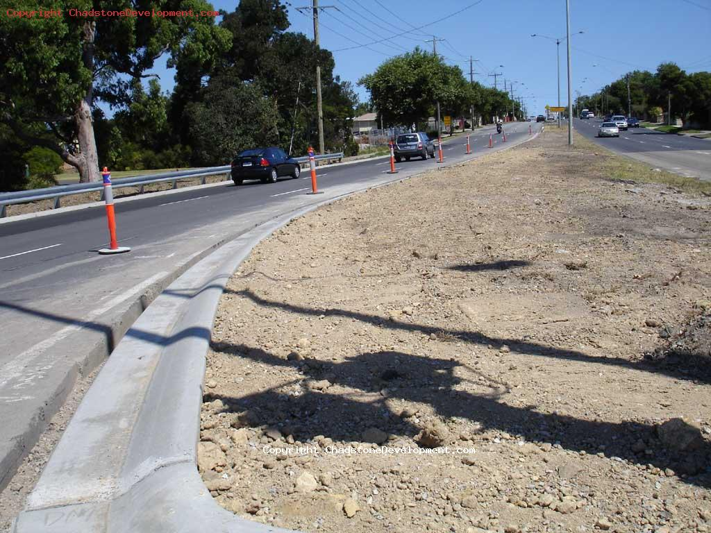 new Warrigal rd kerb/median strip - Chadstone Development Discussions